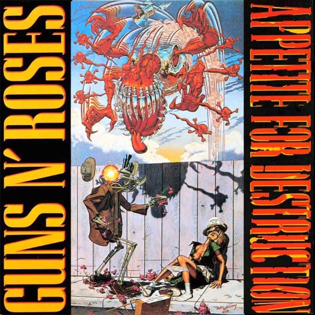 Appetite for Destruction from Robert Williams' artwork, 1987