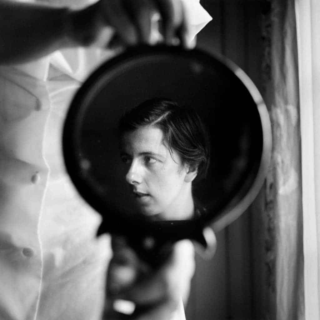 Vivian Maier, Self-Portrait, 1955.