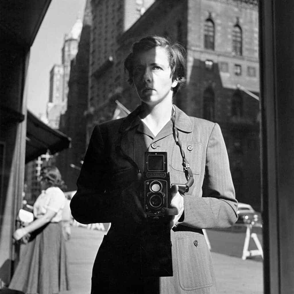 Vivian Maier Self-Portrait - 1953