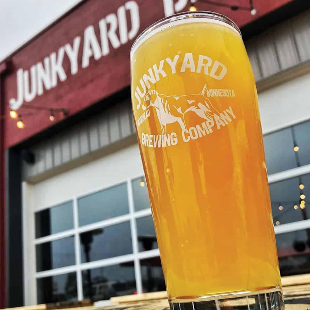 Junkyard Brewing.