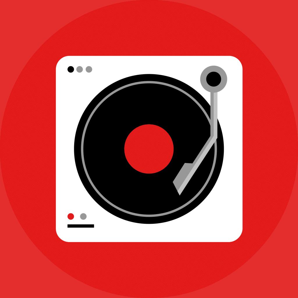 add vinyl effect to youtube, vinyl tube