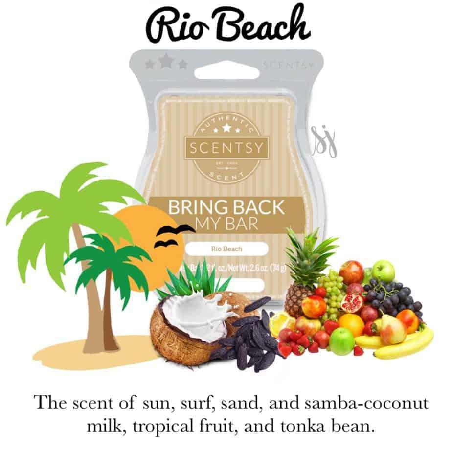 Rio Beach Scentsy Bar
