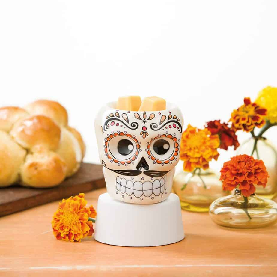 Sugar Skull Scentsy Wax Warmer