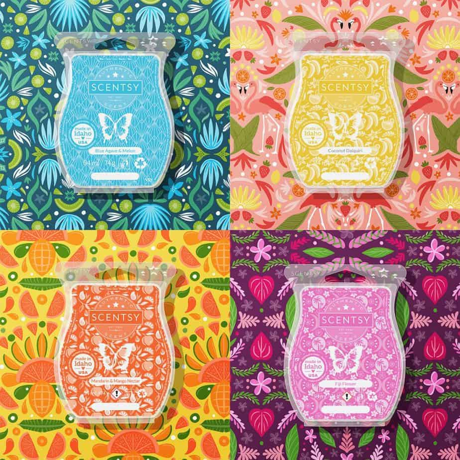 2021 Summer Collection: Scentsy Bars