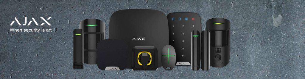 ajax alarmsysteem draadloos onderdelen