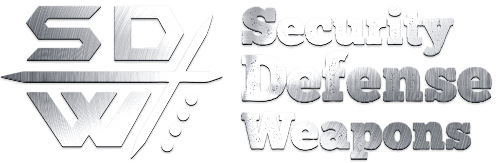 Security Defense Weapons Logo