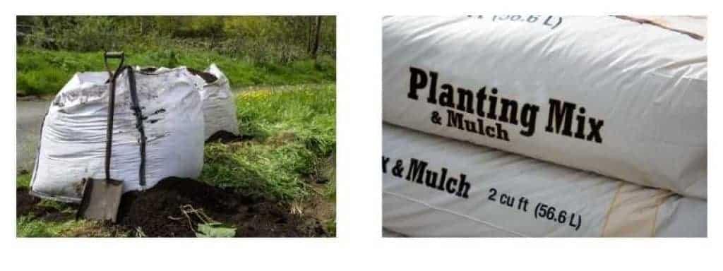 cubic metre ton bag of compost vs garden centre bags of compost