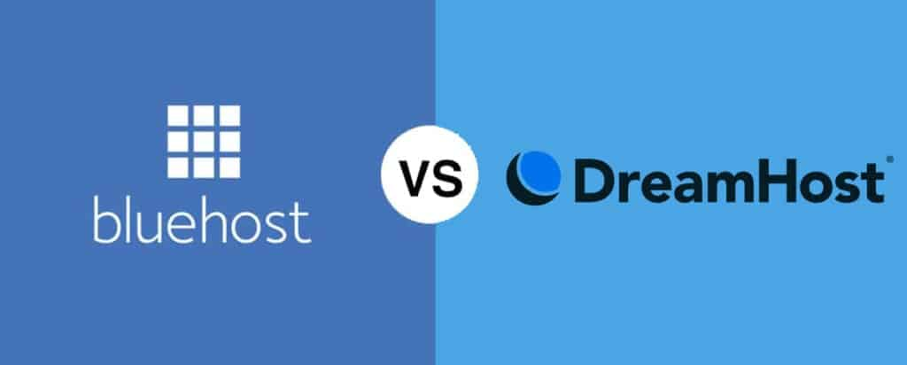 Bluehost vs DreamHost comparison which is best in 2021