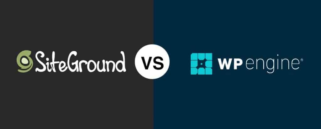 SiteGround vs WP Engine Comparison