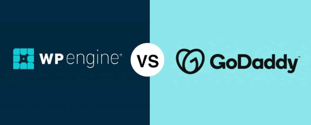 WP Engine vs GoDaddy Comparison features and plans