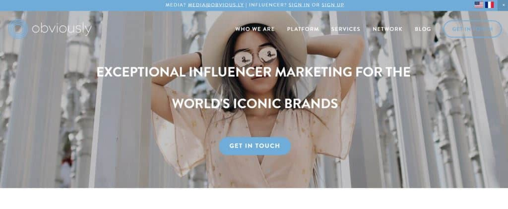 Obviously Influencer Marketing Agency