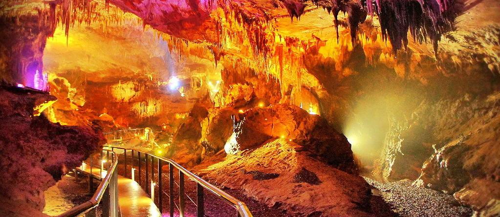 Cueva de Prometeo en Kutaisi