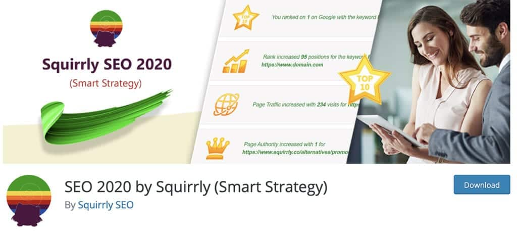 SEO 2020 by Squirrly (Smart Strategy)