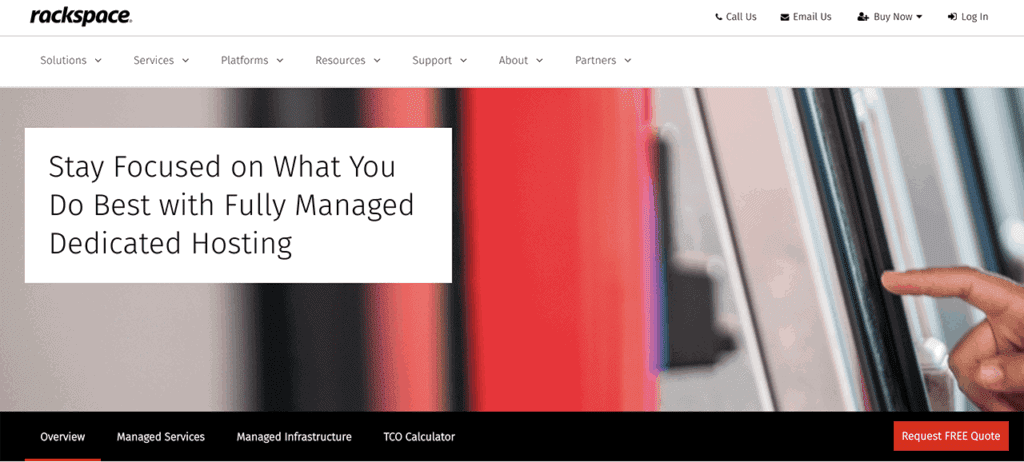 RackSpace - Managed Hosting $500/month