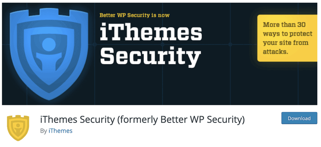 iThemes Security Plugin 2020