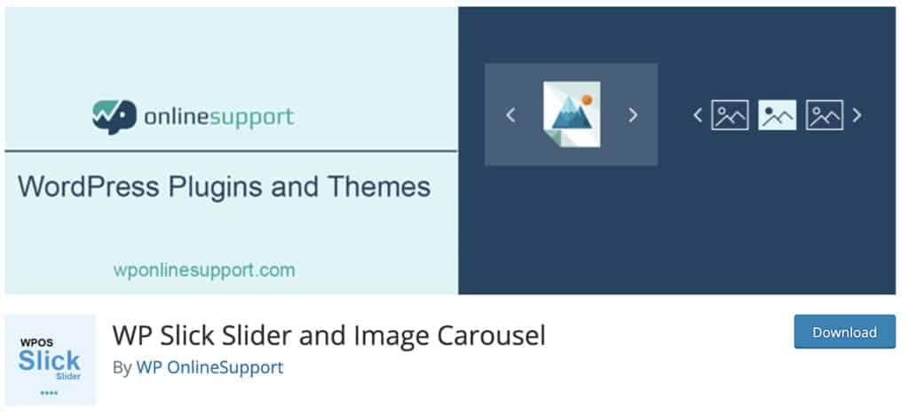 WP Slick Slider and Image Carousel