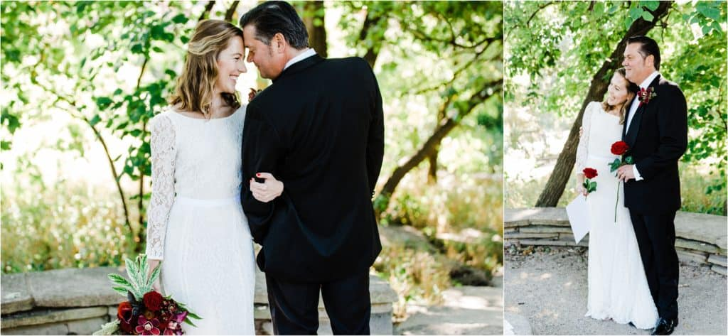 Alfred Caldwell Lily Pool wedding pictures