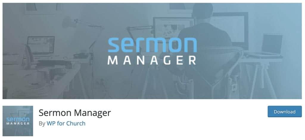 Sermon Manager