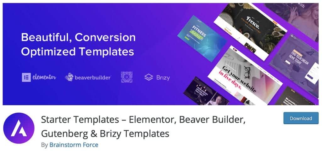 starter templates