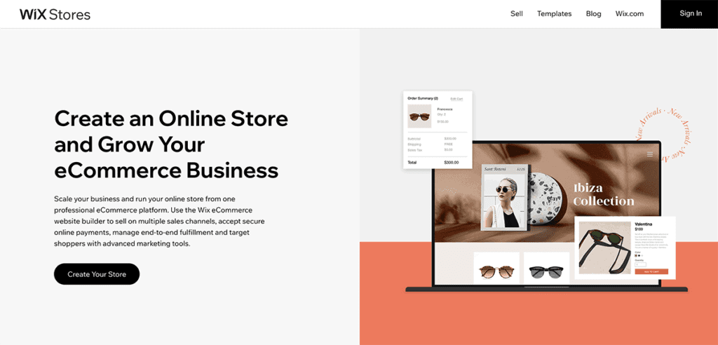 Wix Ecommerce Store Create an Online Store Free