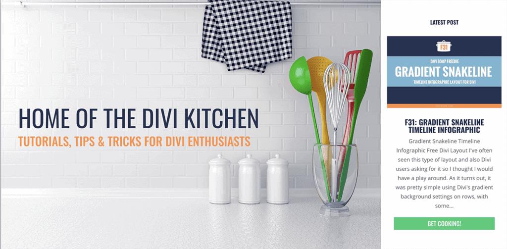 Divi Kitchen - Tutoriels, trucs et astuces pour les amateurs de Divi