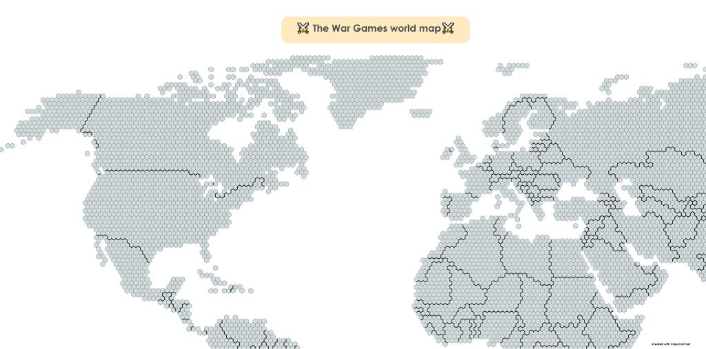 war games alt history world map