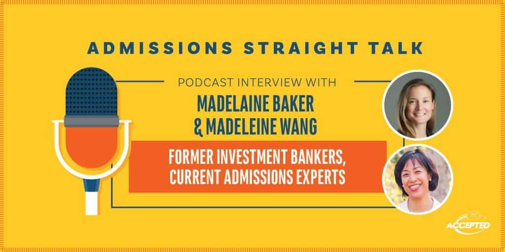 Tips from Former Investment Bankers Current Admissions Experts