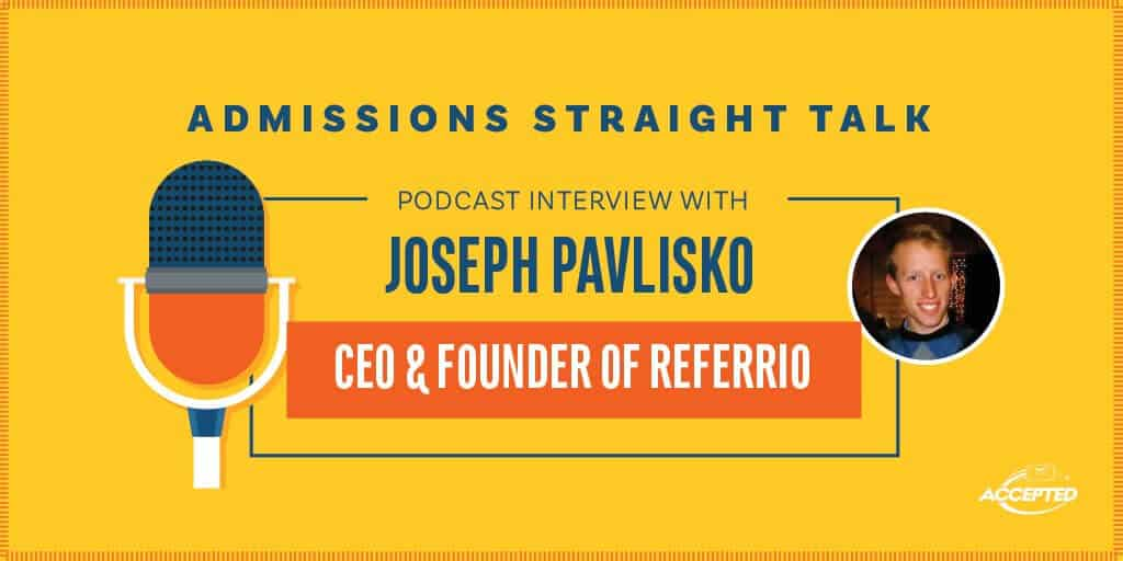 Joseph Pavlisko CEO & Founder of Referrio