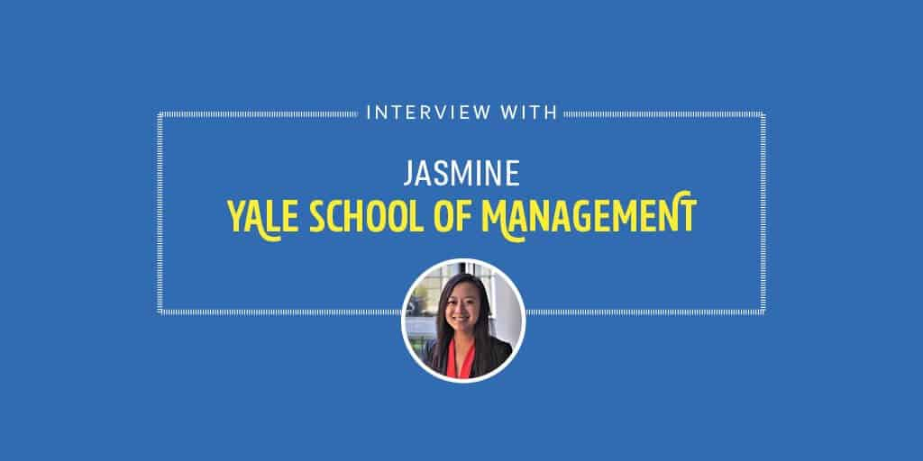 Interview with a Yale SOM MBA Student