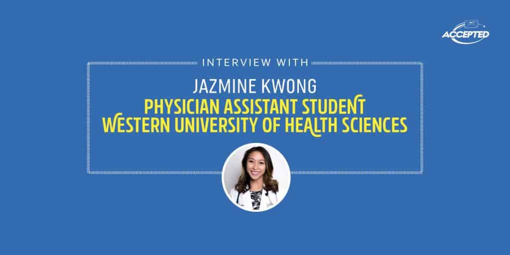 PA Jazmine Kwong Western University of Health Sciences