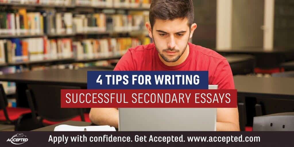4 tips for writing successful secondary essays