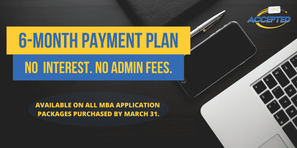 MBA Payment Plan