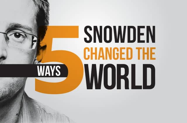 A picture of Edward Snowden.