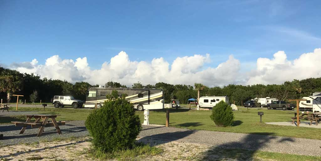 gamble rogers state park riverside campground