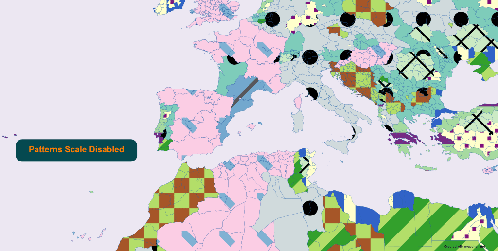world subdivisions patterns scale disabled zoomed