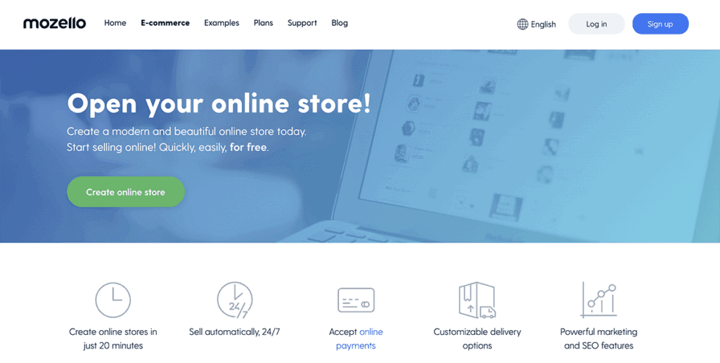 Mozello ecommerce solution best 2020