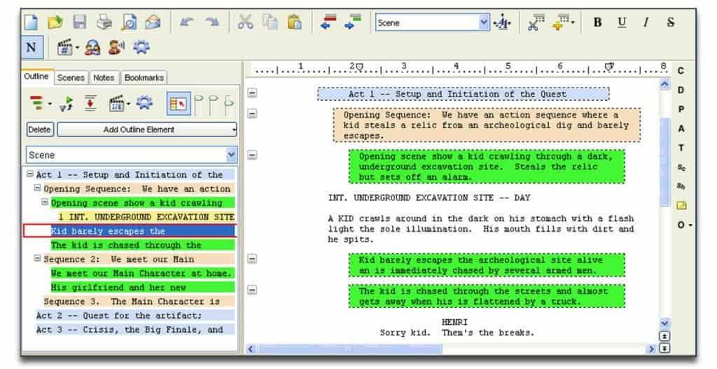 movie magic screenwriting software review