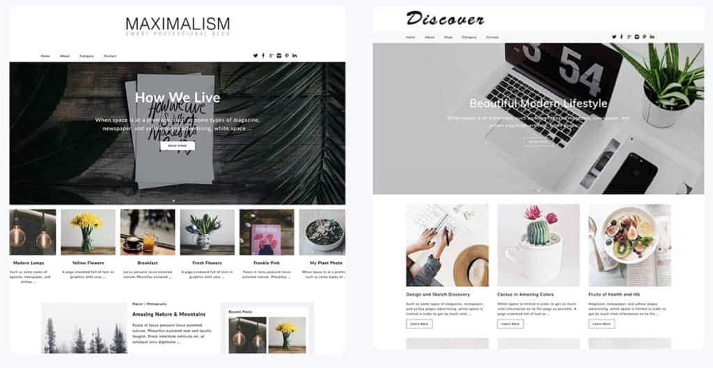 Dessign WordPress Blog themes