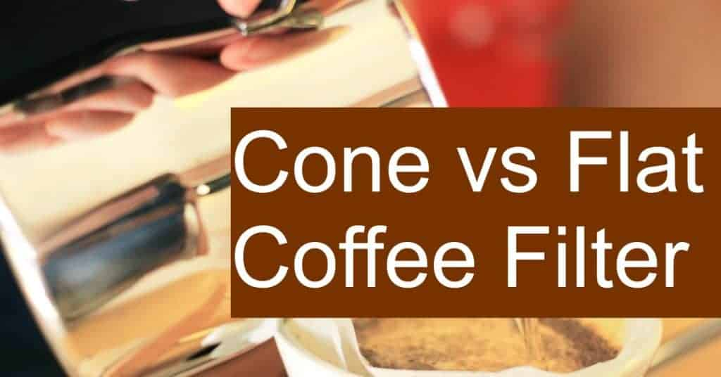 Does the shape of the filter impact the aroma of the coffee? Are cone filters better than flat or basket filters?