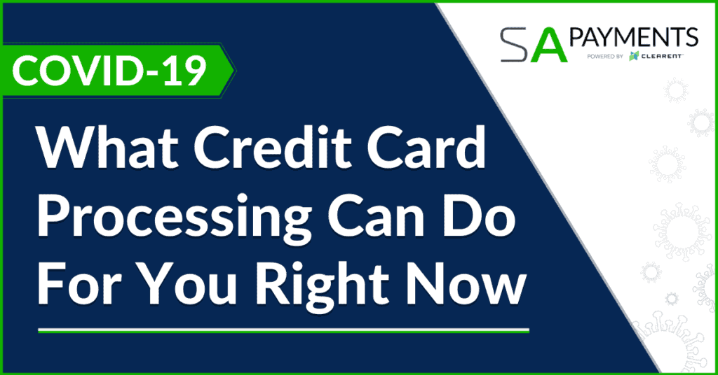 what credit card processing can do for you right now