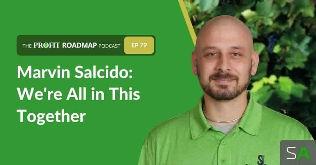 marvin salcido on the profit roadmap podcast