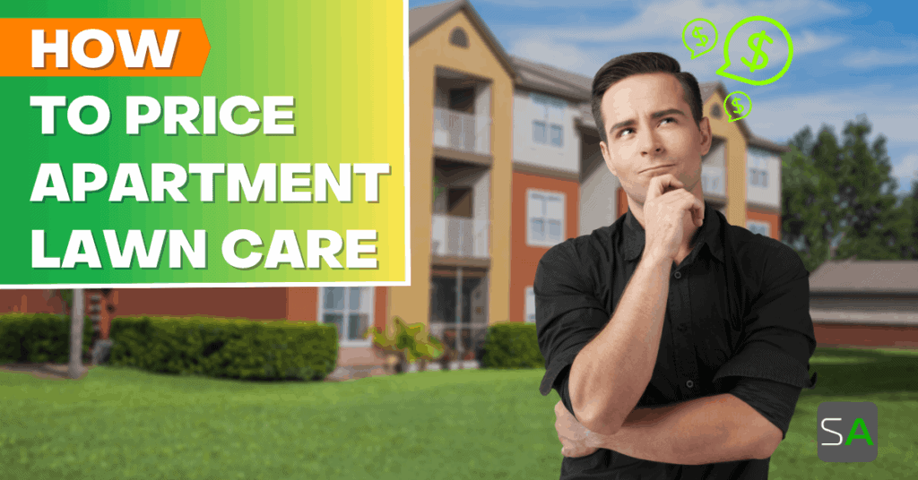 how to price apartment lawn care