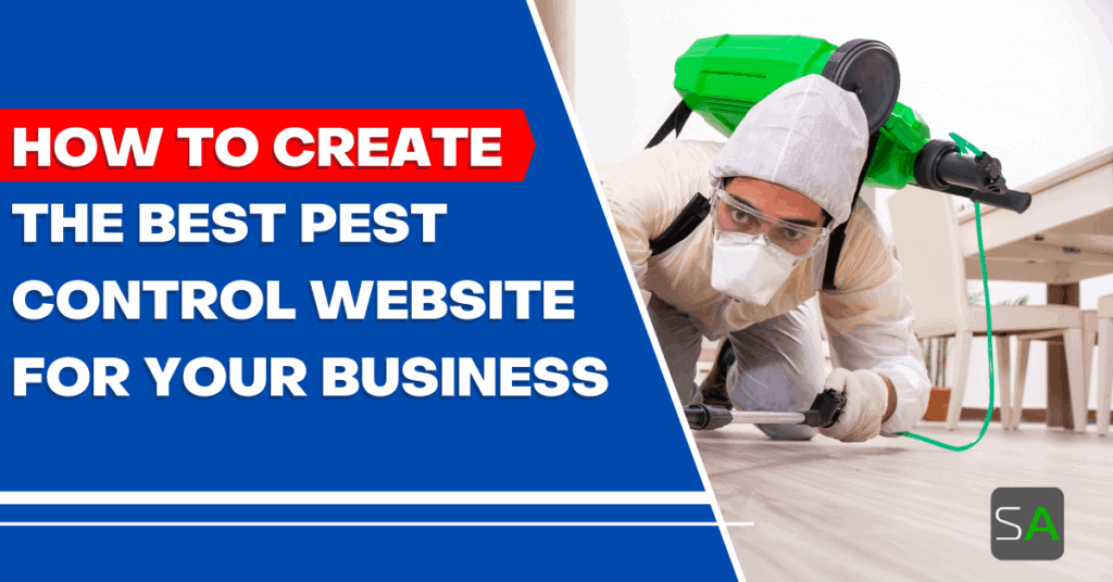 how to create the best pest control website for your business
