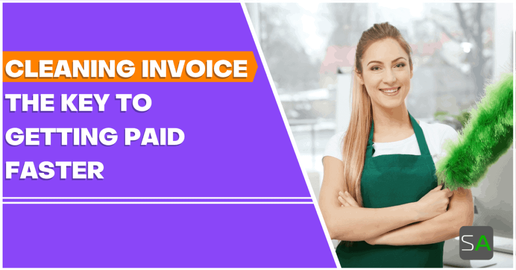 cleaning service invoice key to getting paid faster