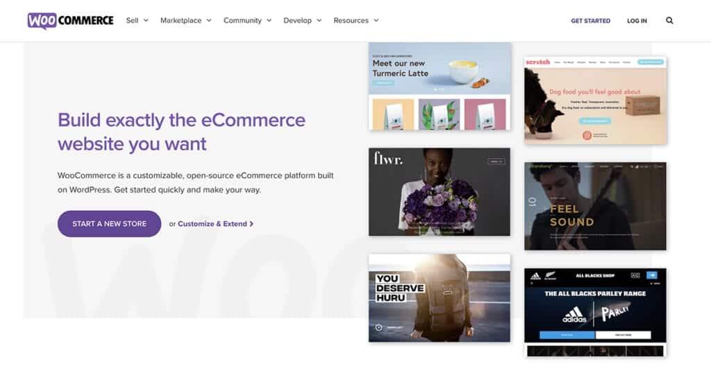 WooCommerce best eCommerce platform featurs