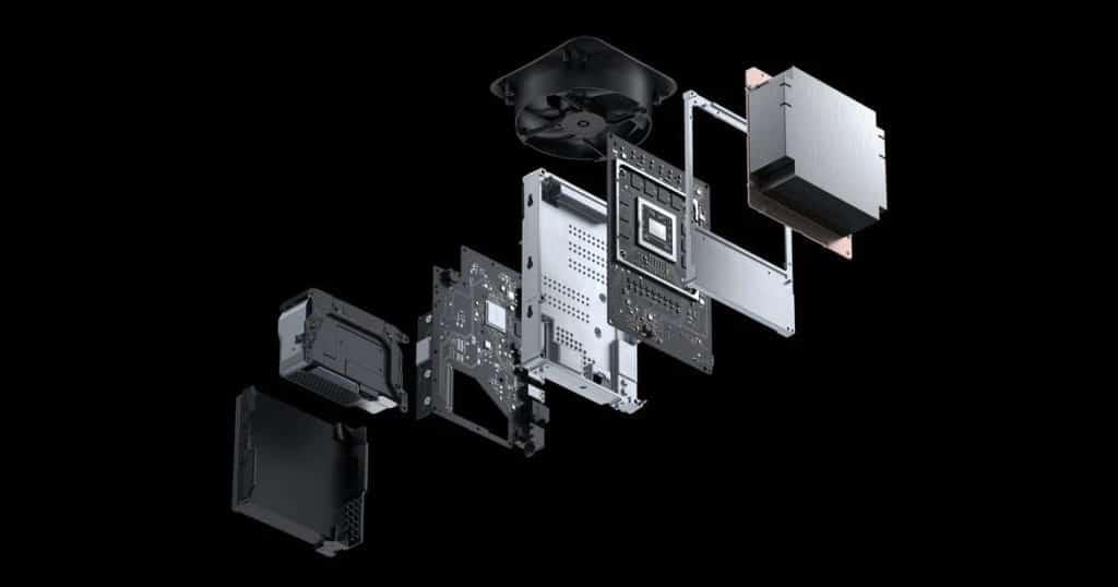 xbox series x dettagli hardware