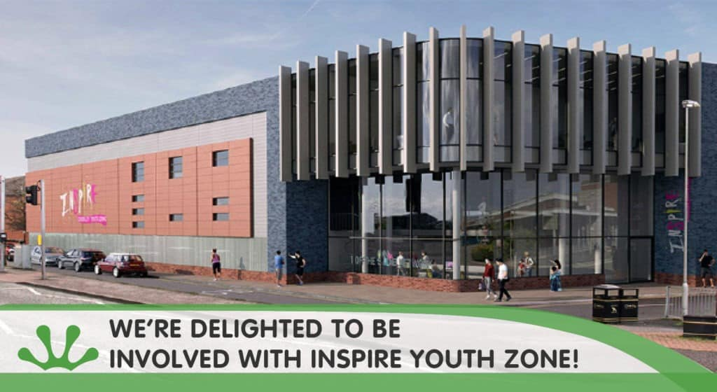 Chorley Youth Zone inspire blog image