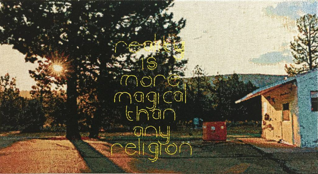 George Bolster, Reality is More Magical Than Any Religion. 2020 - Enter Art Fair.