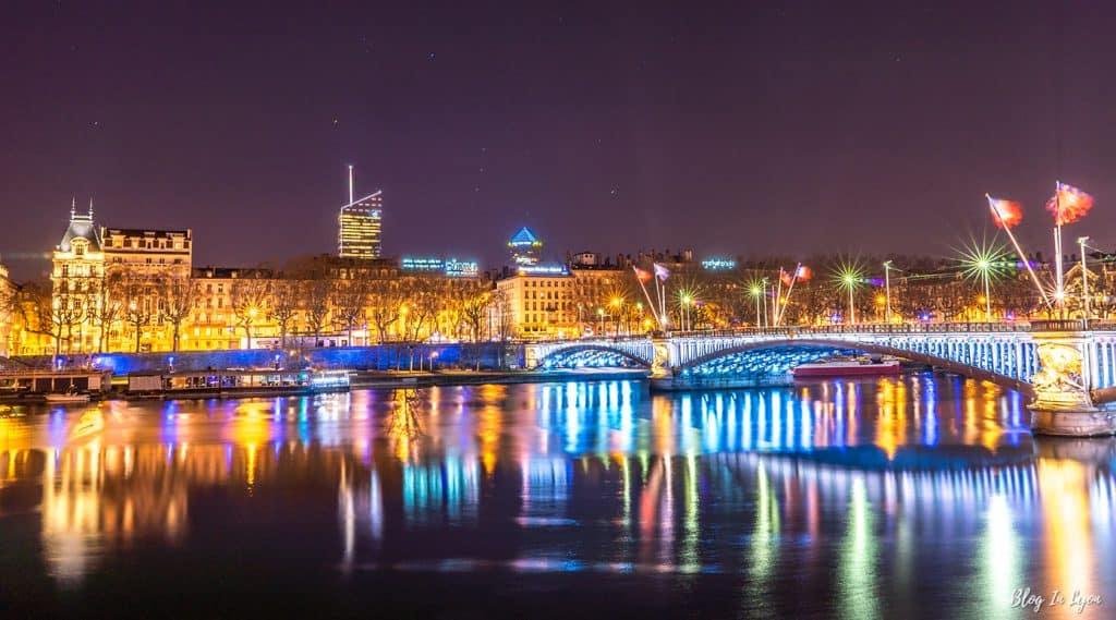 pont Lafayette la nuit