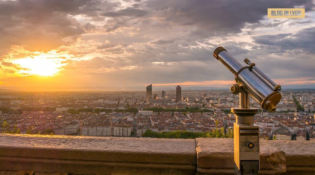 Panorama de Lyon – Fond d